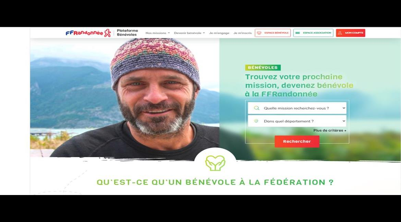 Plateforme Bénévole FFRandonnée